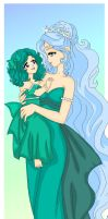 MM - Mother and Princess by Sailor-Serenity