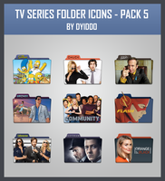 TV Series Folder Icon - Pack 5 by DYIDDO