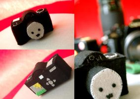 Camera Plushie by paperplane-products
