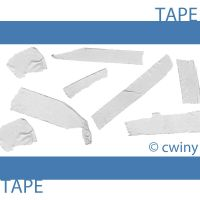 tape brush by cwiny