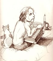 Erik as a child by Vihma