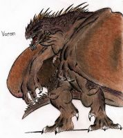 Varan by MonsterKingOfKarmen