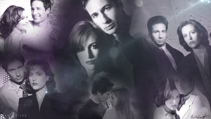 Mulder and Scully by RatchetHD