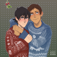 Christmas Klance by xXKaseiXx
