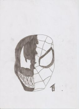 spiderman/ venom by dutchyEDD