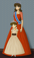 A Queen and her Princess by BklynSharkExpert
