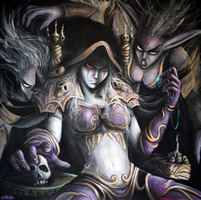 Fan Art World of Warcraft XVI by ArtByAntera