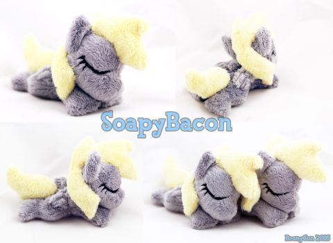 Sleepy 4in Derpy ~ BronyCon Stock 2016 by TheHarley