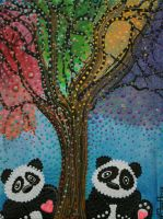 The Panda Tree by barbosaart