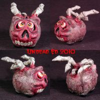 When Zombie Pigs Fly OOAK by Undead-Art