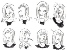 Android 18 by BlackScarz