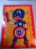 Artist Cards 1 Capt. America by Tokyo-Trends