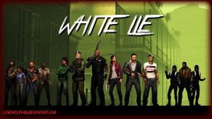 [SFM] - L4D - White Lie Wallpaper by LoneWolfHBS
