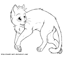 Cat Template by Naoki-Wolf