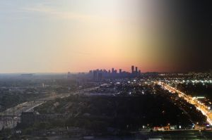 Mississauga by Day and Night by SoupaSeb