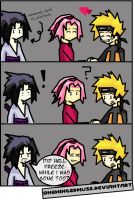 Naruto: Turned Tables Comic by OneWingedMuse