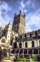 Gloucester Cathedral by purplekyloe