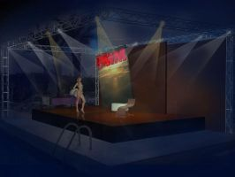 FHM mag stage design by sergiokomic