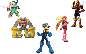 What I'm Made Of (Megaman NT Warrior 1st Team) by actioncatcher