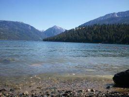 Wallowa Lake, again. by MusicIsMyLifeForever