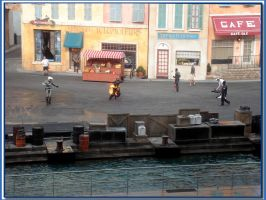 Stunt Show Wallpaper by WDWParksGal