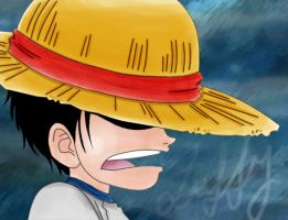 Luffy no booshi by JoiceGem