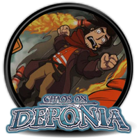Chaos on Deponia (Deponia 2) - Icon by Blagoicons
