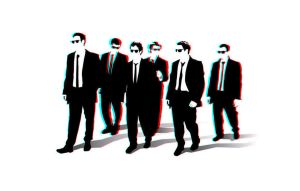 Reservoir Dogs 3-D conversion by MVRamsey