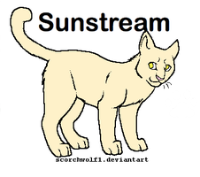 Sunstream Cat Breedable by WarriorCatLuver123
