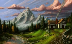 Mountain House by Wildweasel339