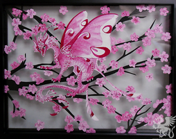Cherry Blossom Camouflage by TheAntimonyElement