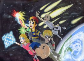 Earthbound Awesomeness by QuesoGr7