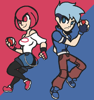 Twin Technicolor Protagonists by Noland005