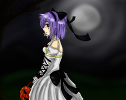 Fuyuko [Trick-or-Treat!][Contest Entry] by AdmiralBoo