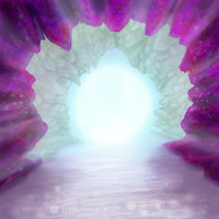 Speed Painted Cave by krillatron