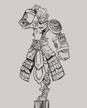 Wukong by Apollo by Apollo-Man