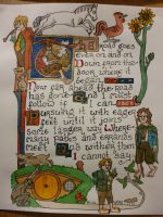 Illuminated Hobbits by emma-hobbit