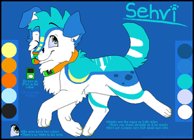 Sehvi Ref. Sheet by Miiroku