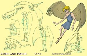 Cupid model sheet