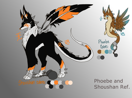 Phoebe and Shoushan ref by MistyTB