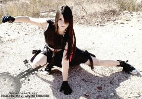 Me as Tifa by LockhartTifa