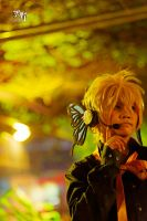 Listening - Kagamine Len by Amano7