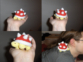 Finished Spiny Plushie by Aemi