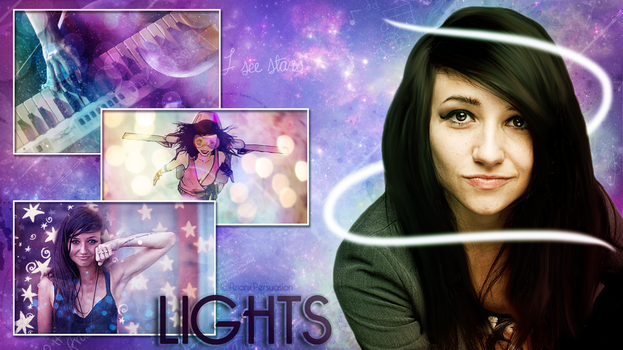 LIGHTS Wallpaper by AzianxPersuasion