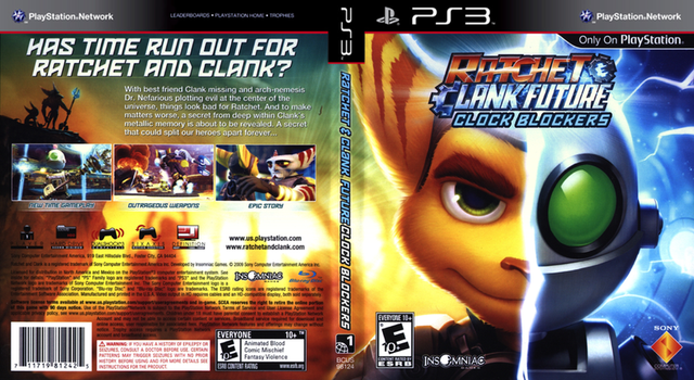 Ratchet and Clank Future: Clock Blockers by JoseOmatic