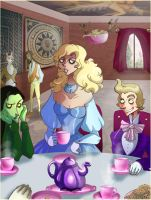 WICKED: Teatime is dandy by Buuya