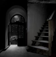Decay House Background by mysticmorning