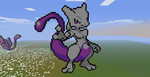 Minecraft- Mew Two Again by aprilgoddess