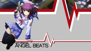 Angel Beats Yuri Nakamura Wallpaper by B1itzsturm