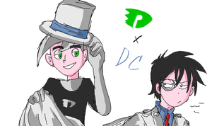 DCXDP Danny and Kaito by mimidan